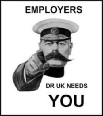 Employers. DR UK needs you