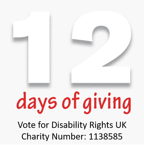 Vote for Disability Rights UK