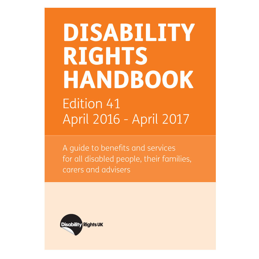 Disability Rights Handbook now in stock