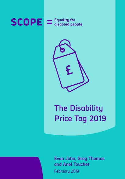 The Disability Price Tag