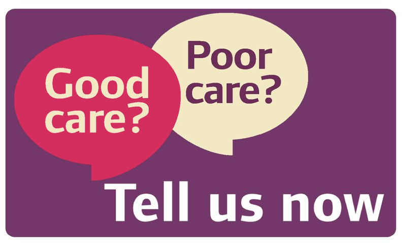 Good Care, Poor Care. Tell us now