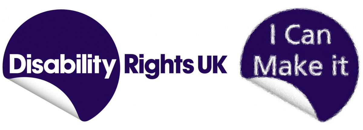 I Can Make It and Disability Rights UK