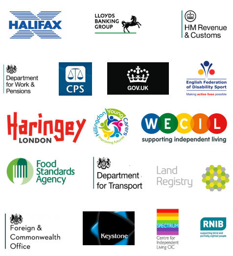 Companies and organisations we have worked with