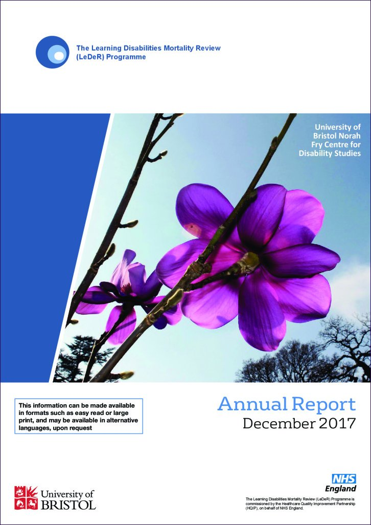 The Learning Disabilities Mortality Review Annual Report 2017