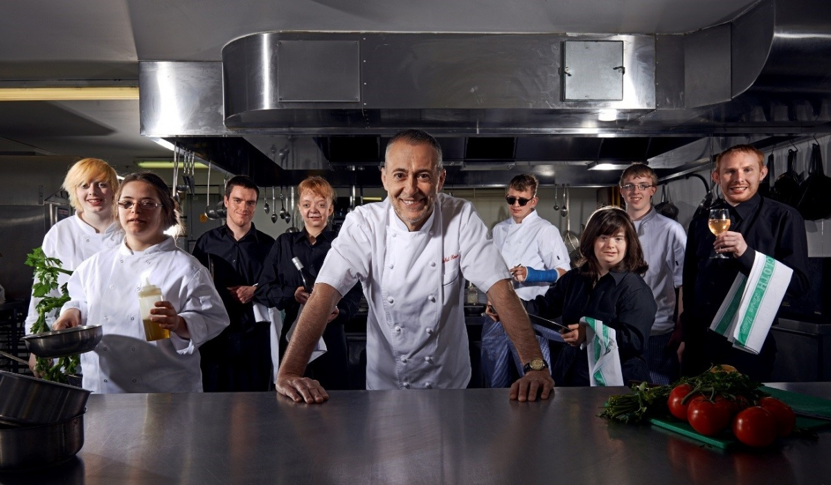 Chef Michel Roux Jr © Channel 4 & Hal Shinnie