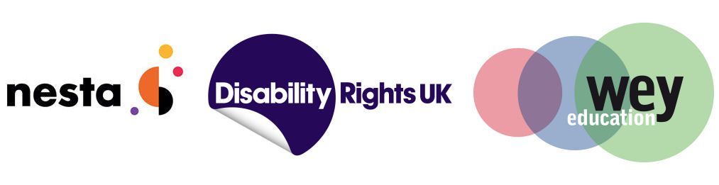 Nesta, Disability Rights UK and Wey Education