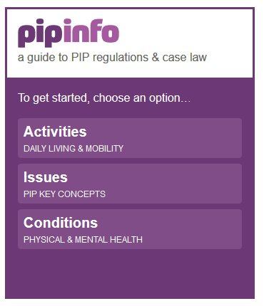 Rightsnet pipinfo an adviser guide to personal independence payment regulations & case law