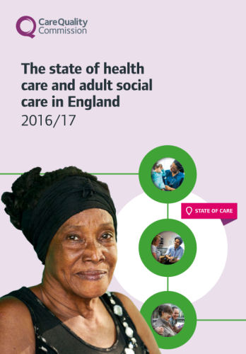 The state of health care and adult social care in England 2016/17