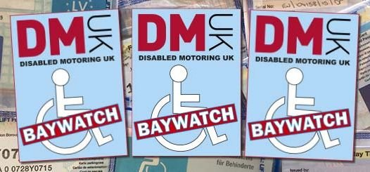 Disabled Motoring UK's Baywatch campaign