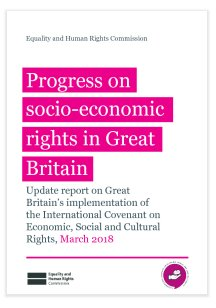 Progress on socio-economic rights in Great Britain