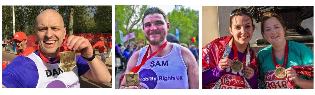Applications for the Virgin London Marathon 2019 for Disability Rights UK- open now