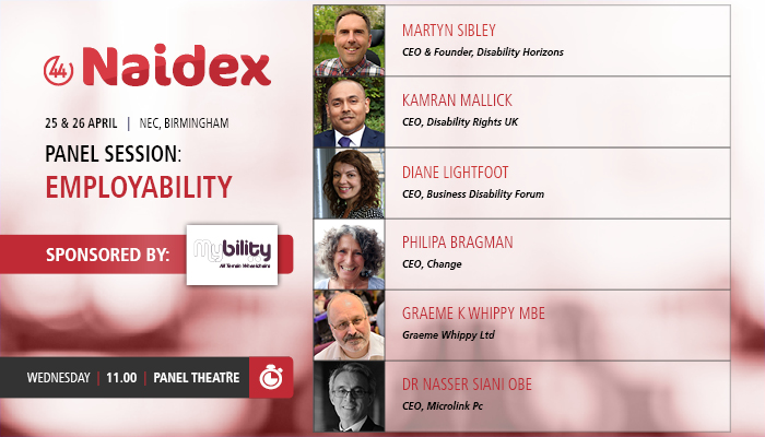 Naidex Employability Panel members
