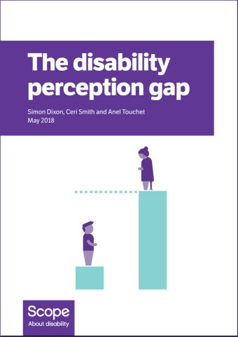 The disability perception gap