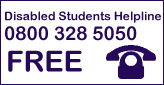 Disabled Students Helpline