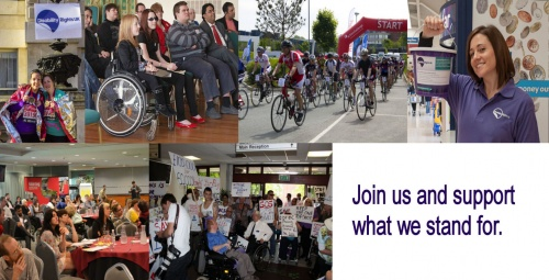 Help build the voice of disabled people