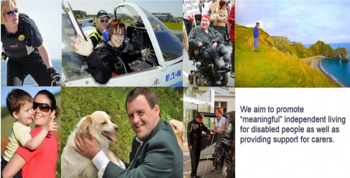 We are working to develop new models of personal budgets across social care, health, employment and more, so we as disabled people have the greatest choice and control in our lives.