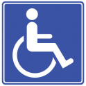 blue badge scheme image
