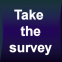 Take the survey logo