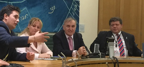 Johnny Mercer MP, Lisa Cameron MP, Philp Connolly DR UK and Lord Addington