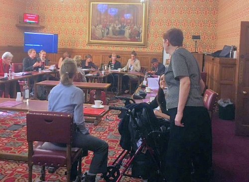 Baroness Jane Campbell launches disabled UNCRPD report event