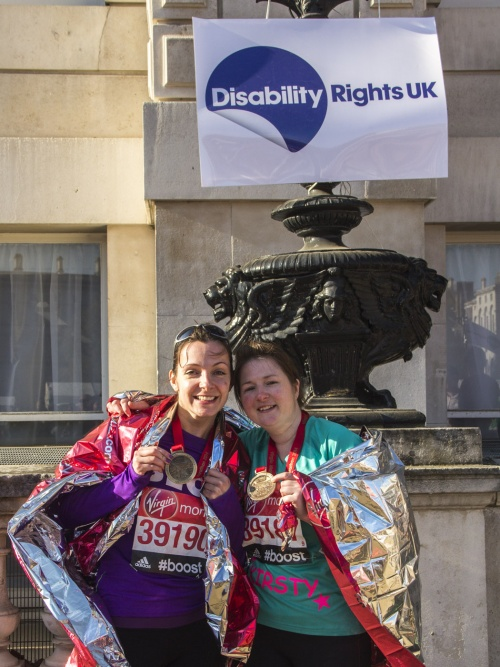 Rebecca and Kirsty