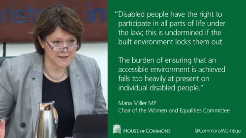 Maria Miller, Chair of the Women and Equalities Select committee