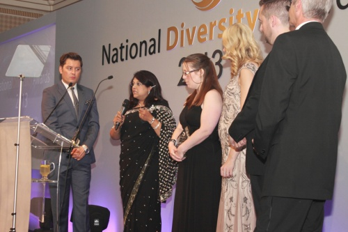 Community Organisation Award winners Chase Against Crimes of Hate (CACH)
