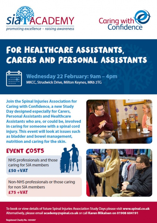 Caring with Confidence flyer