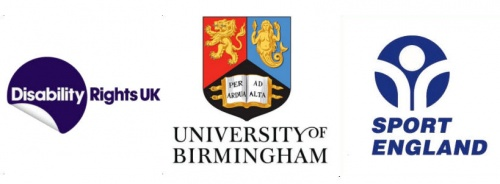 Disability Rights UK has partnered with University of Birmingham and Sport England