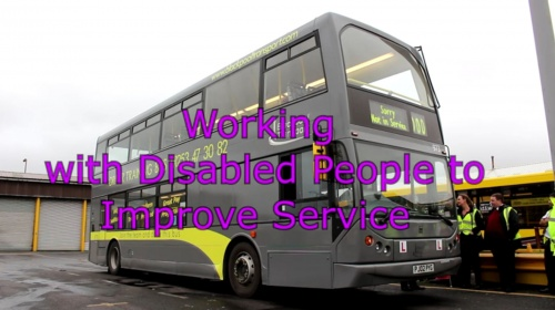 Working with disabled people to improve service