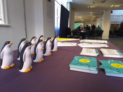 Those Get Yourself Active Penguins turn up everywhere