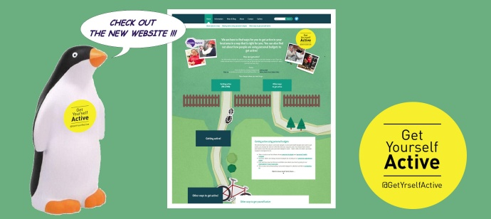 Our new Get Yourself Active website