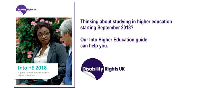 Into Higher Education 2018